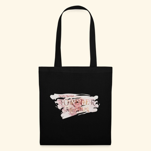 """Newly married together forever """"weddingcontest"""" - Tote Bag"""