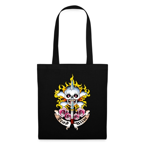 Dead or Alive - Tattoo Design - Tote Bag