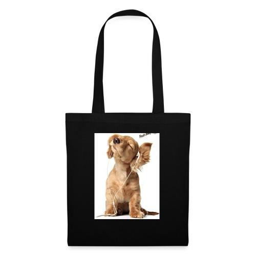 Lustige Hunde Chip! Mieze Idee Geschenk - Stoffbeutel