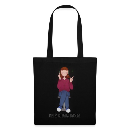 I'm a music lover - Tote Bag