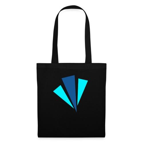 Blauwe Objecten T-shirt - Tas van stof
