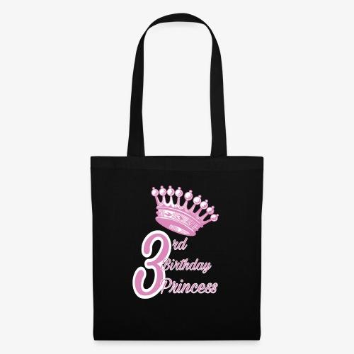 3rd Birthday Princess - Borsa di stoffa
