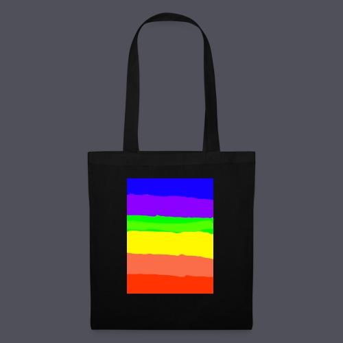Luna The Kitten & Rainbow Design - Tote Bag