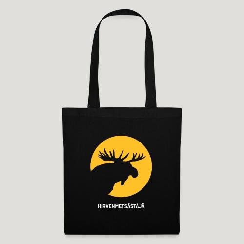 Hirvenmetsästäjä - moose hunter (finnish version) - Stoffbeutel