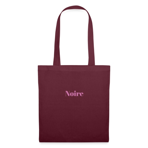 Noire - Tote Bag