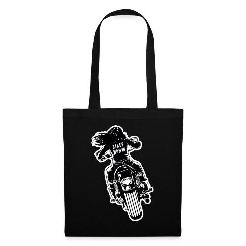 Biker Woman - Bolsa de tela