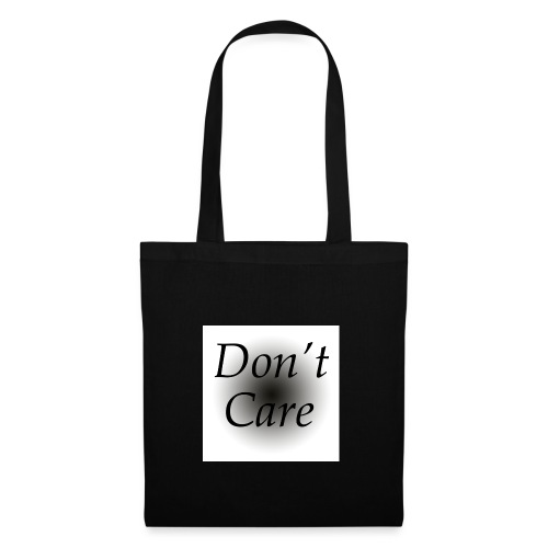 Don't care quote tas - Tas van stof