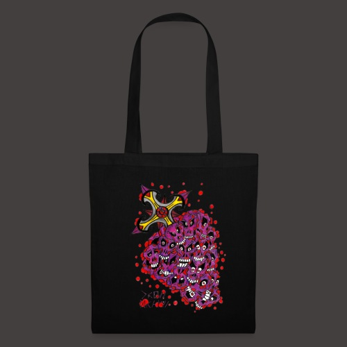 Cross Grapes - Tote Bag