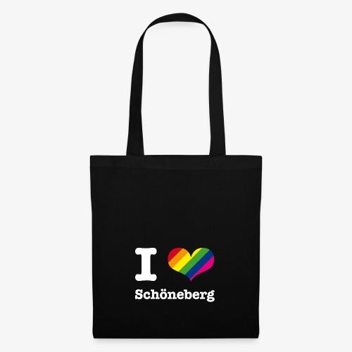 I love Schöneberg Rainbow - Stoffbeutel