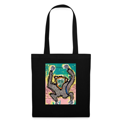 the monkey - Borsa di stoffa