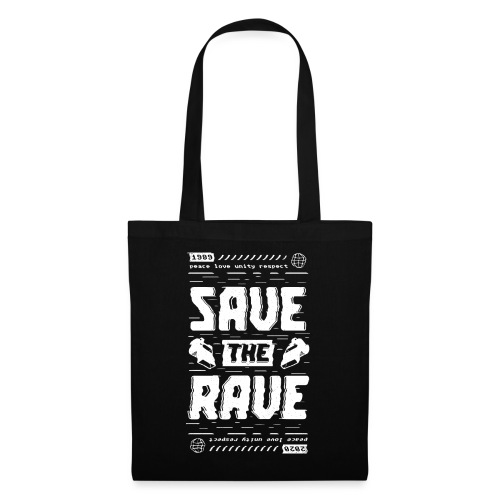 Save The Rave - Tote Bag