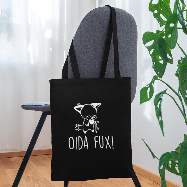 Vorschau: Oida Fux - Stoffbeutel
