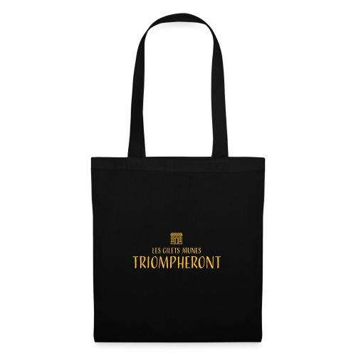Les gilets jaunes triompheront, t-shirt manif - Tote Bag
