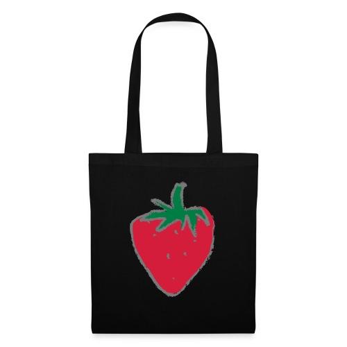 Erdbeere - Stoffbeutel