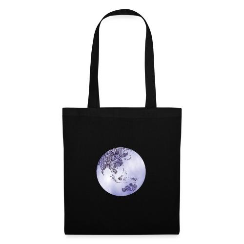 logo monde bleu - Sac en tissu
