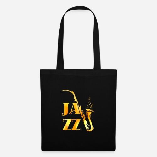 Jazz Tribal Saxophon - Stoffbeutel