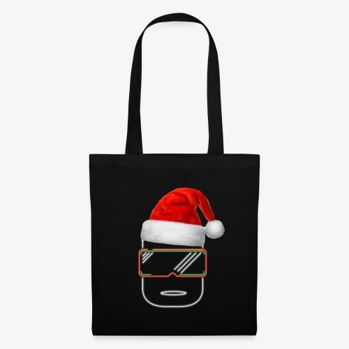 Die Zock Stube - Robot-Head Christmas - Stoffbeutel