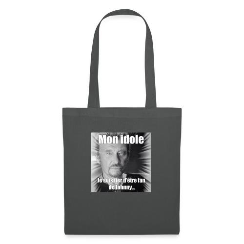 Mon idole Johnny Hallyday - Tote Bag