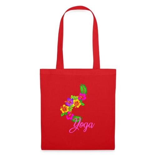 yoga exotic flower - Tote Bag