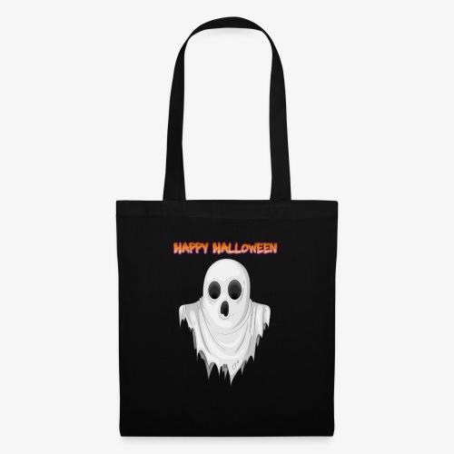HAPPY HALLOWEEN GHOST DESIGN - Tote Bag