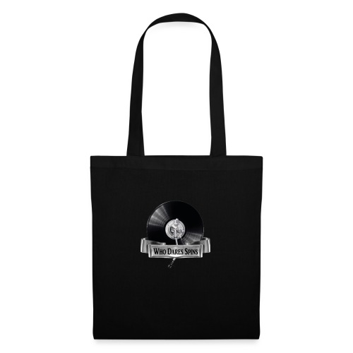 WHO DARES SPINS - Tote Bag