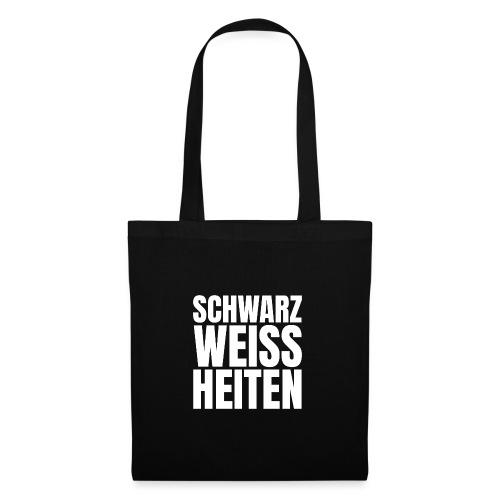 SCHWARZWEISSHEITEN - Stoffbeutel