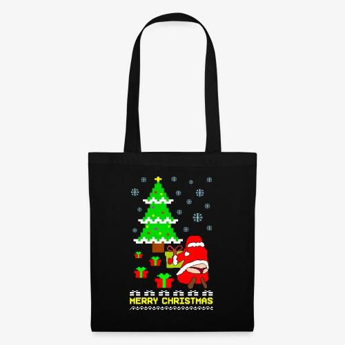 Merry Christmas Santa Tanga Ugly Xmas - Stoffbeutel