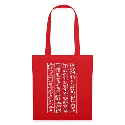 Hieroglyphen - Stoffbeutel