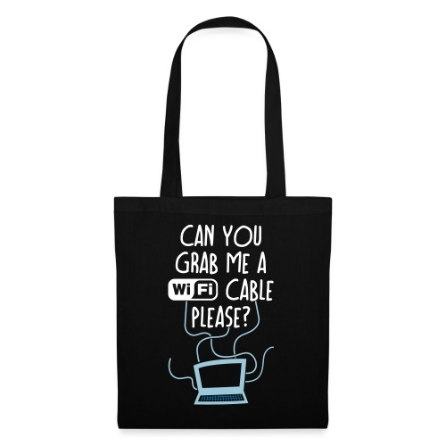 WiFi Cable - Tote Bag