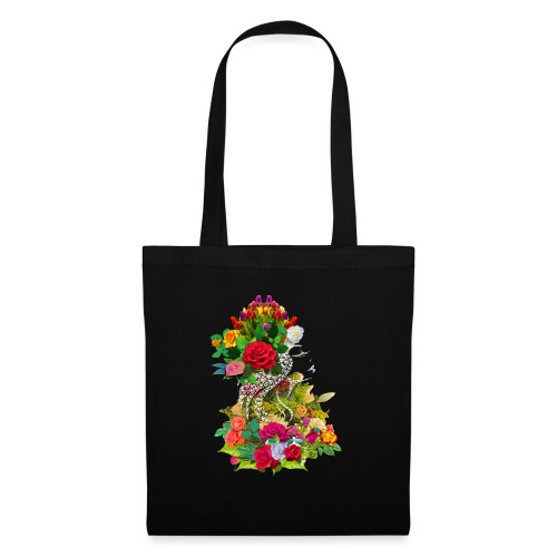 Lady flower - Tote Bag