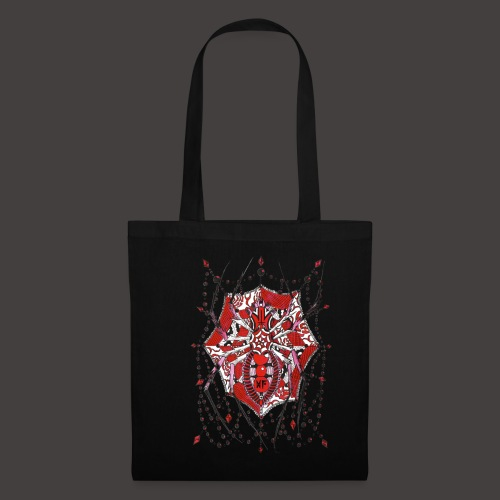 Spider Dentelle Red - Tote Bag