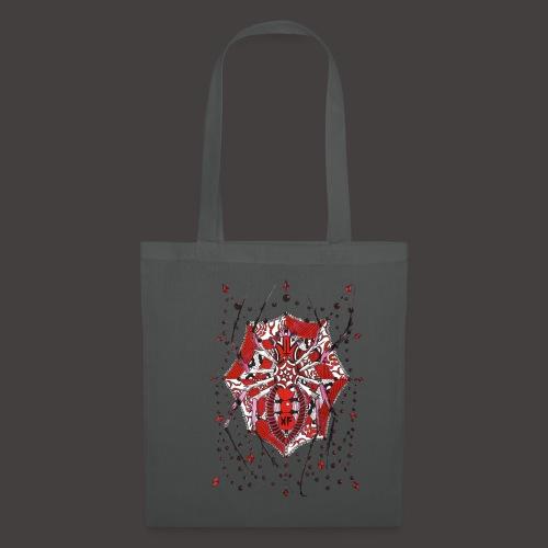 Spider Dentelle Red - Tote Bag