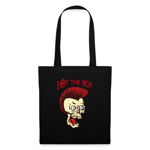 Eat The Rich (For Dark Shirts) - Stoffbeutel