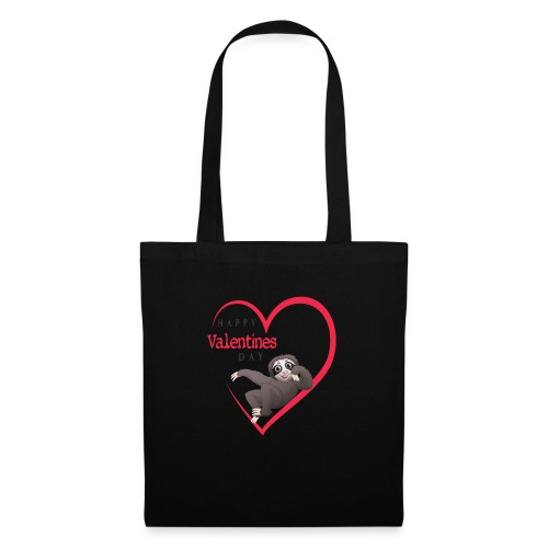 Sloth Valentines Day - Stoffbeutel