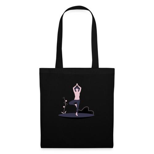 undraw yoga 248n - Bolsa de tela