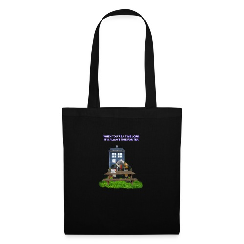 TIME AND SPACE AND TEA - Tote Bag