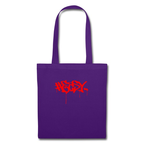 #EASY Graffiti Logo T-Shirt - Borsa di stoffa