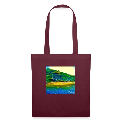 Tropical beach - Borsa di stoffa