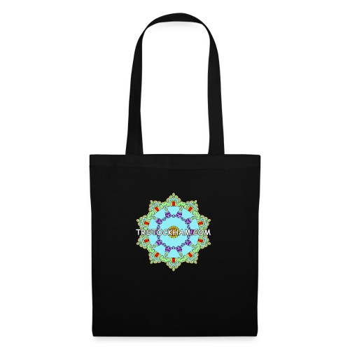 Enjoyably Quirky Colouring Book Design 9 - Tote Bag