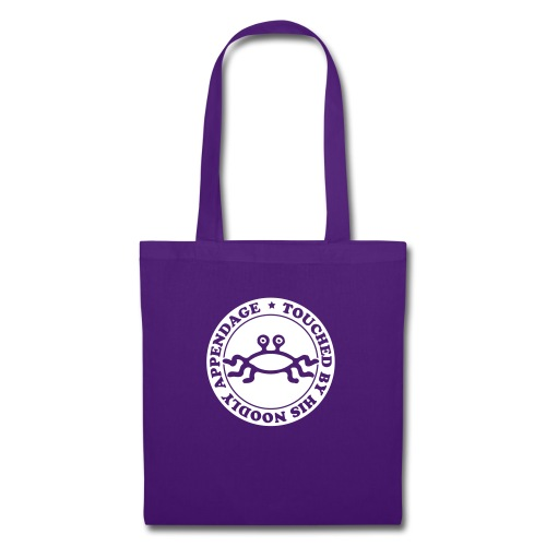 Touched by His Noodly Appendage - Tote Bag