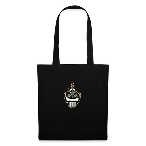 Tron-Gaming-Logo-Gelb-Transparent - Stoffbeutel