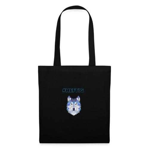 wolf blau - Stoffbeutel
