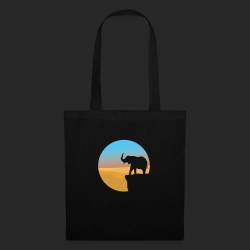 Sunset Elephant - Tote Bag