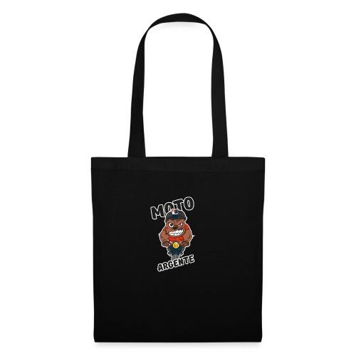 moto argente - Tote Bag