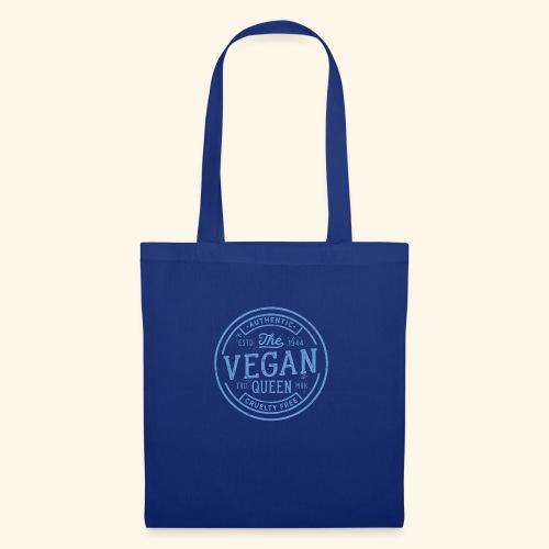The Vegan Queen - Vintage Stamp Logo - Tote Bag