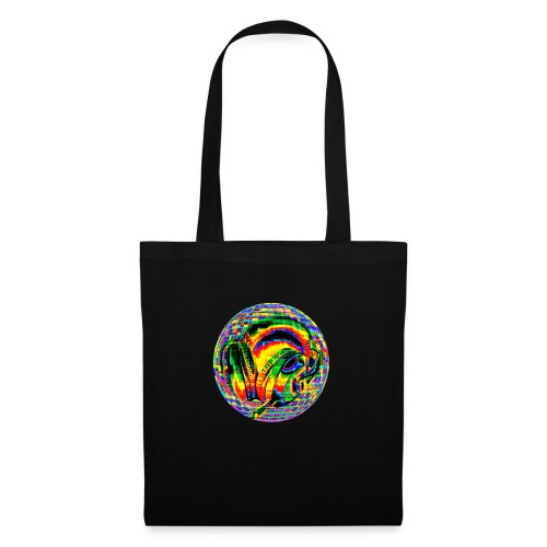 Casque à facettes - Tote Bag