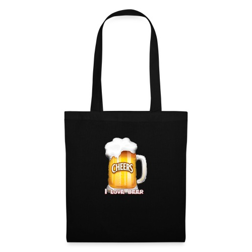 I Love Beer - Stoffbeutel