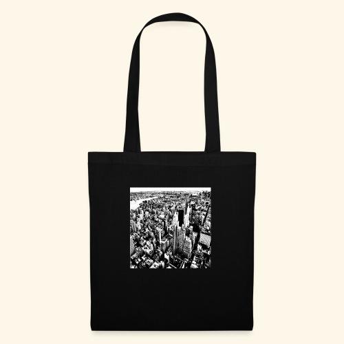 Manhattan in bianco e nero - Borsa di stoffa