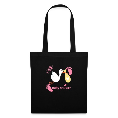 Fete baby shower pour filles - Tote Bag