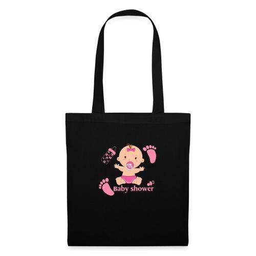Baby shower pour un bébé fille - Tote Bag